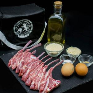 Fried lamb chops box
